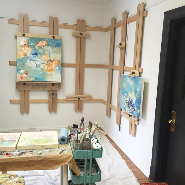Art Studio Wall Easel