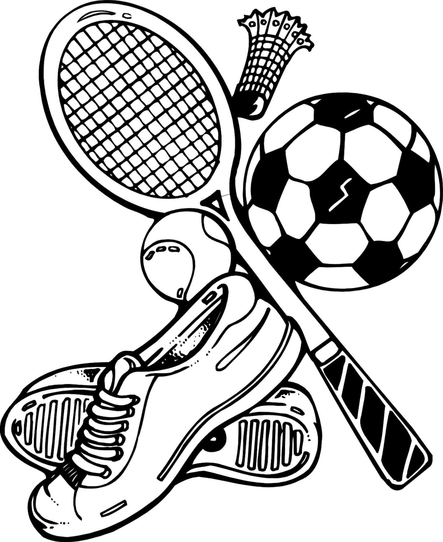 Free Physical Education Coloring Pages
