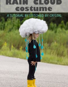 Make  quick  easy rain cloud costume  all ages also images about halloween on pinterest pumpkin rh