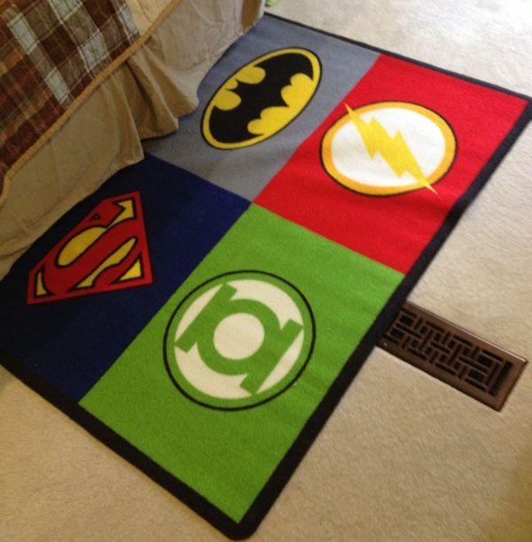 Superhero Rug - Rugs Ideas