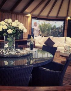 Interior of  little garden summer house at grand designs live birmingham uk also rh pinterest