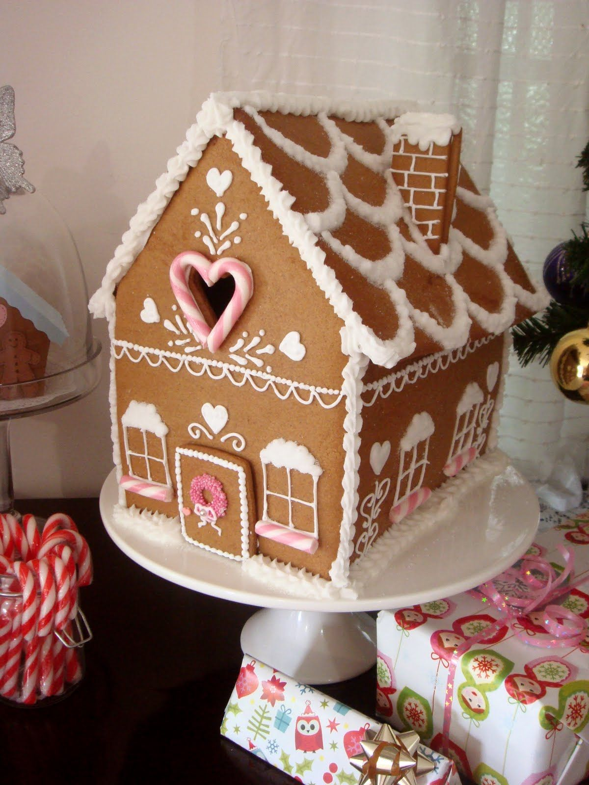 Gingerbread Houses Tips & Tricks; Day 7 Biscuit Noel Pain Et