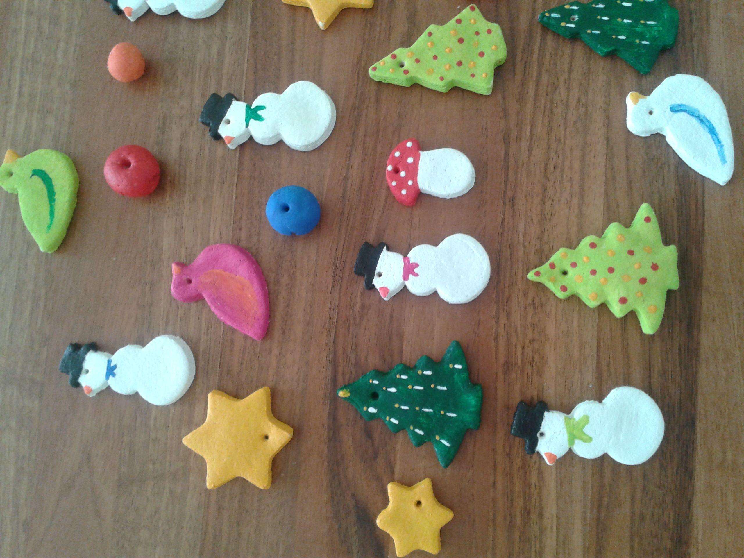 Kinder Basteln Weihnachten Weihnachtsbaumschmuck Aus Salzteig