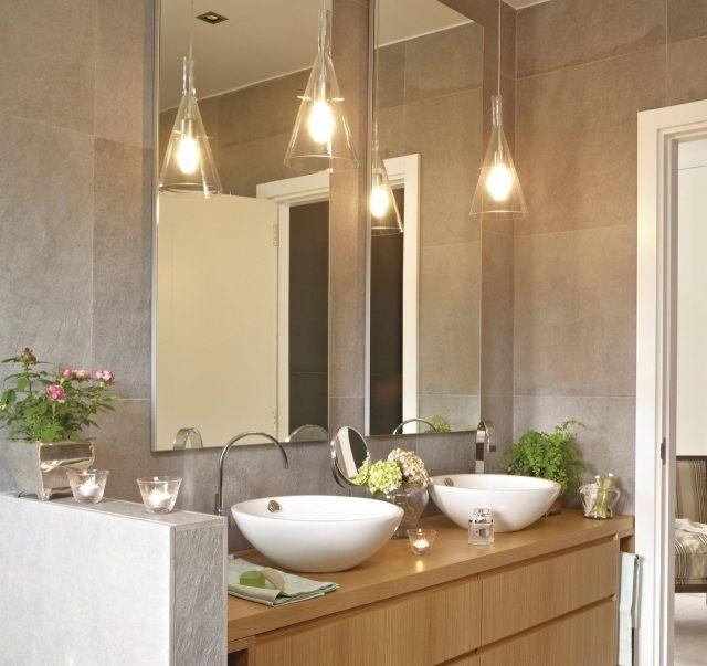 Luminaire salle de bains  30 belles photos et bons conseils  Luminaire salle de bain