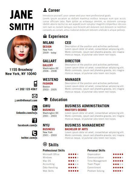 Cool Resume Samples 49 Creative Resume Templates Unique Non