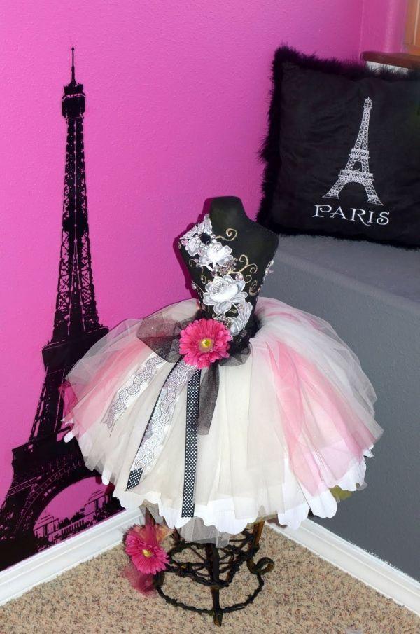 Paris Themed Bedroom for Girls Room