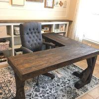 Pottery Barn inspired desk DIY | Office makeover, Desks ...