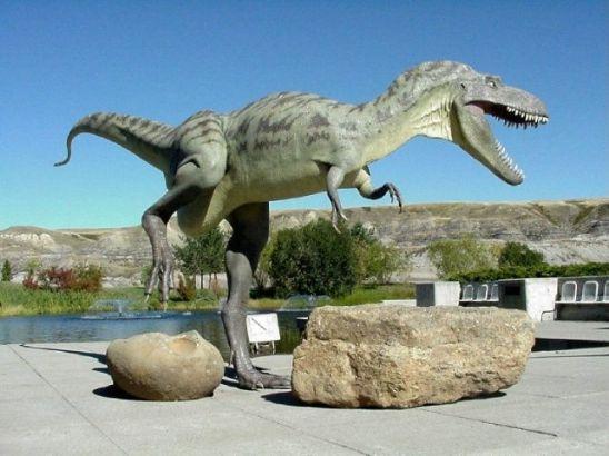 Image result for drumheller dinosaur