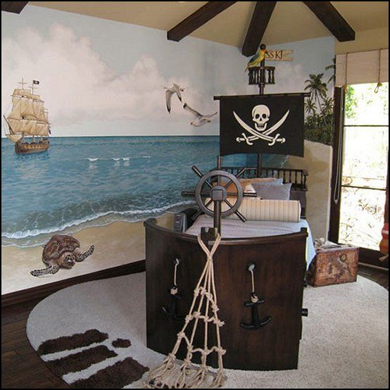 Find this pin and more on nautical party decorations pirate bedrooms also sailboat themed room decor rh pinterest