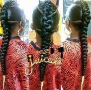 mohawk french braid awesome hair