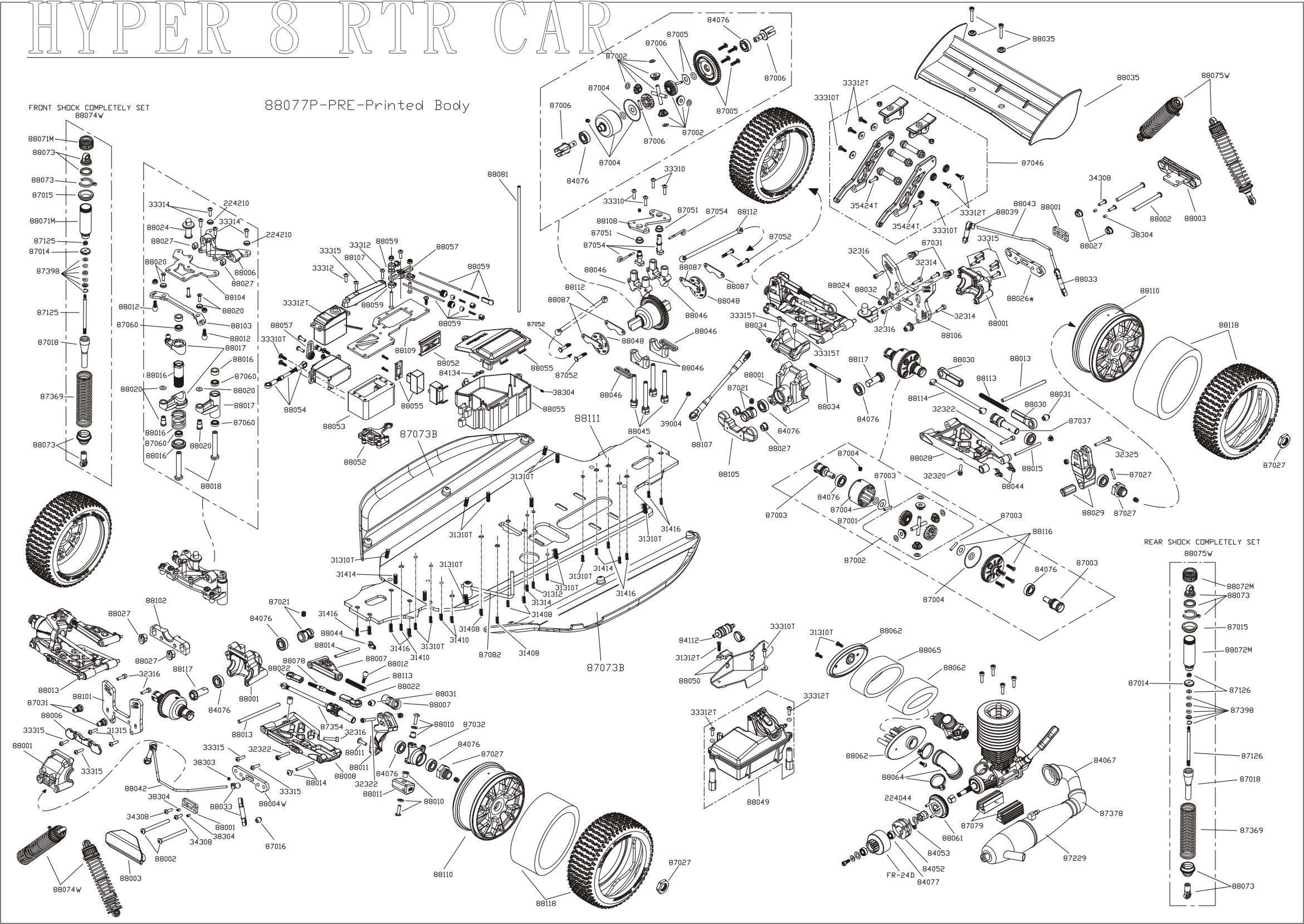 Custom Yamaha V Star Wiring Diagram