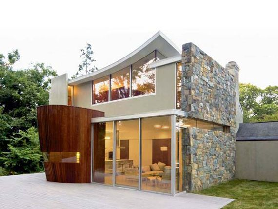 Awesome Small Houses Love The Style Small Houses Pinterest