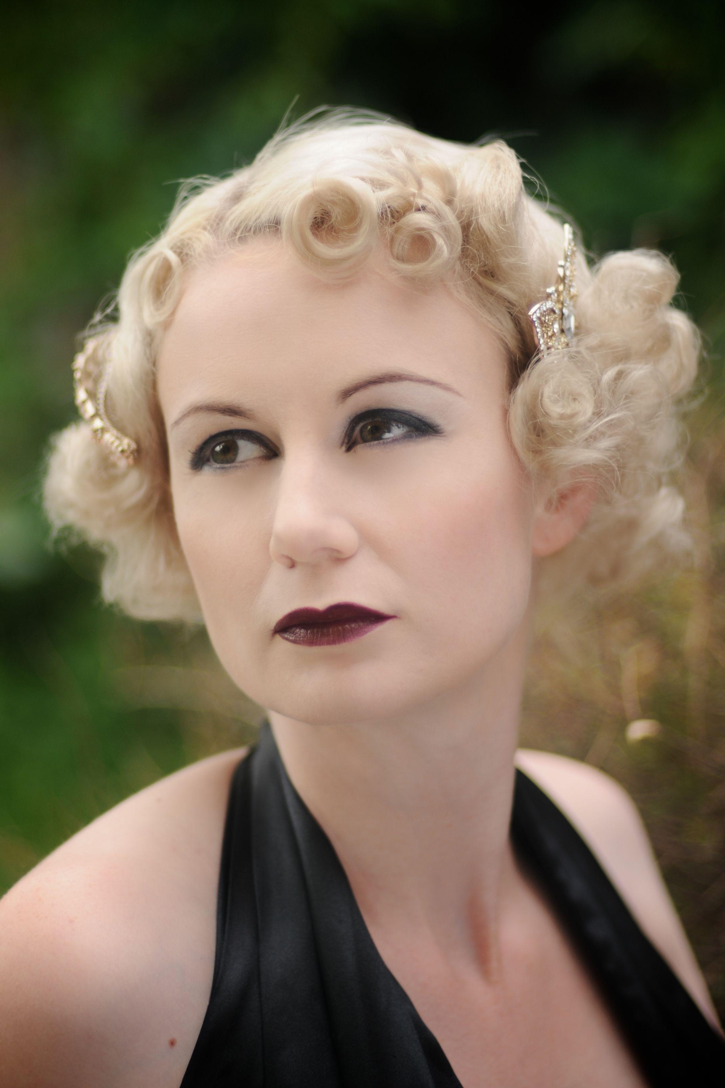 1920s hair & make up by Sarah s Doo Wop Dos