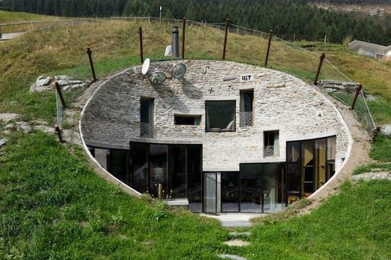 House Built Inside A Mountain In Swiss Alps Favorite Places