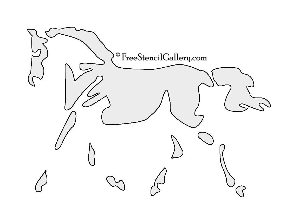 Horseman Stencil Lantern Headless O Jack