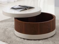 Image of The Round Coffee Tables with Storage  the Simple ...