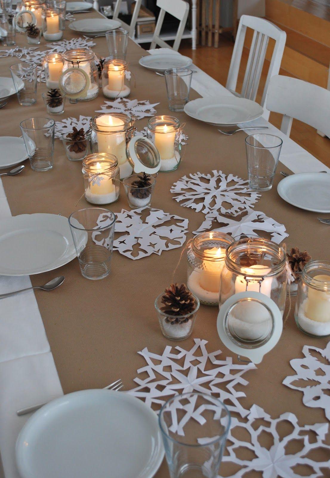 Winterdeko Tisch Eine Erste Tischdeko Im Januar Meriseimorion