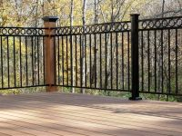Outdoor Wrought Iron Railings Deck | Home Design Ideas ...