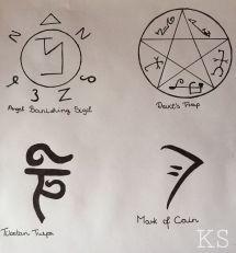 Azazel Supernatural Symbols - Exploring Mars
