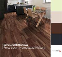 Press Lock from Richmond Reflections #flooring #vinyl # ...