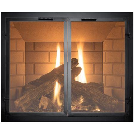normandy fireplace door woodlanddirect com fireplace glass doors