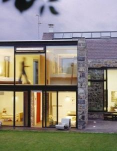 Small modern home design viewing gallery inspiring box shaped contemporary architecture with minimalist interior house stone wall and impressive glass also mooarc la concha this was remodeled from  th rh pinterest