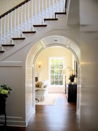 Archway under stairs | Home Sweet Home | Pinterest ...