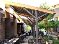 Commercial Louvered Patio Cover like the metal posts and ...