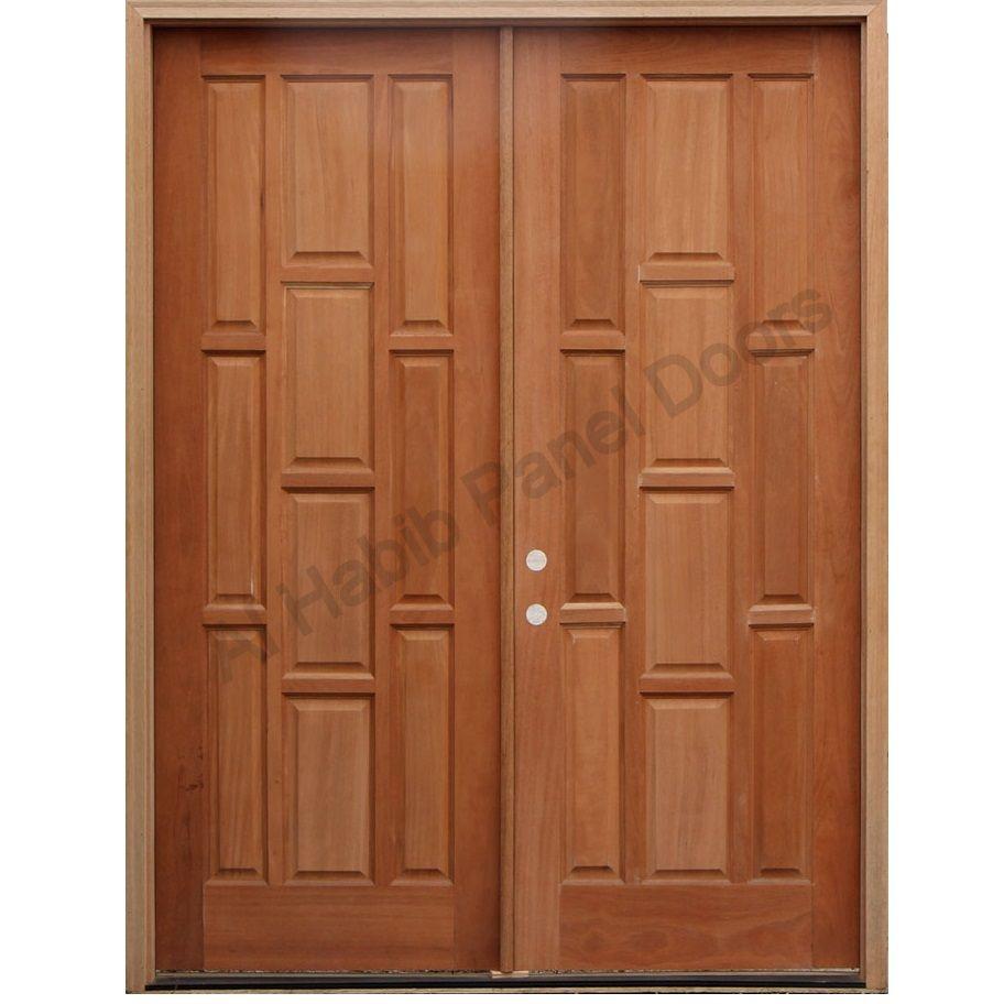 Dayar wooden front door hpd458 solid wood doors al habib panel - Main Door Main Doors Al Habib Panel Doors Solid Wood Main Double Door Hpd Main