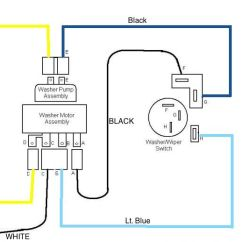 7 Core Trailer Wiring Diagram Manual Transfer Switch Electric: 2 Speed Wiper Motor | '60s Chevy C10 - & Electric Pinterest ...