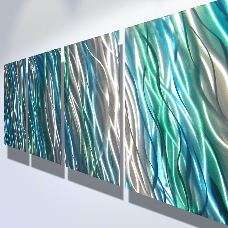 Metal Wall Art Decor Abstract Contemporary Modern