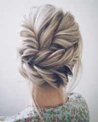 38 Bridesmaid Hairstyles(Updos, Half Up Half Down, Curls ...