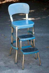 Vintage kitchen step stool | Retro Home Decor 60's & 70's ...