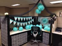 Cubicle decoration-Birthday | Crafty Things | Pinterest ...