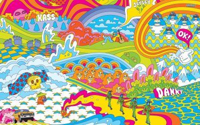 hippie trippy 1080p wallpapers quality nike acid snowboarding trip