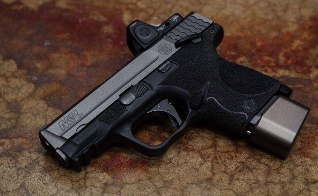 Smith Wesson M P 9c Trijicon Apex Tactical Taran