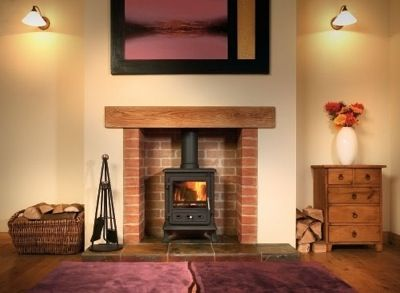 Family Room Wood Burning Stove Decor Firefox 8kw Multifuel Stove