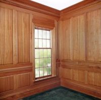 wood library panels   ... Made Traditional Raised Panel ...