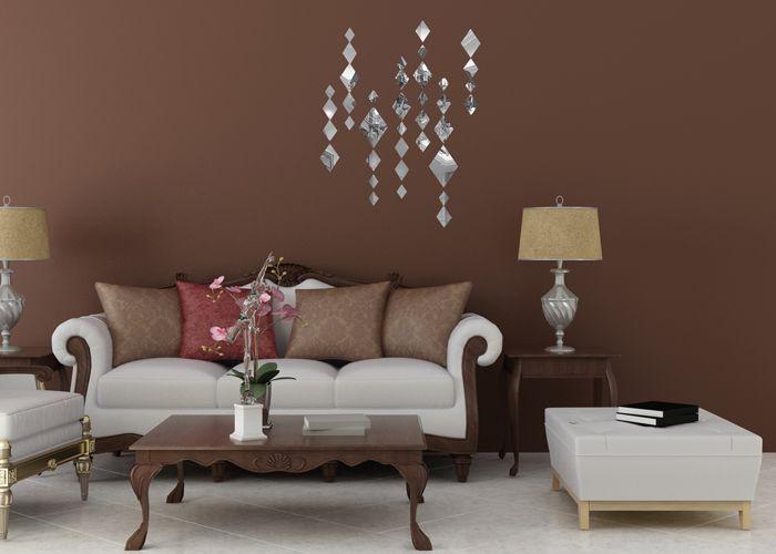 Living Room Wall Mirrors Decorative