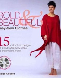 Bold  beautiful easy sew clothes unstructured designs that fit and flatter every shape are simple to make by habibe acikgoz also vitamins diet pinterest rh