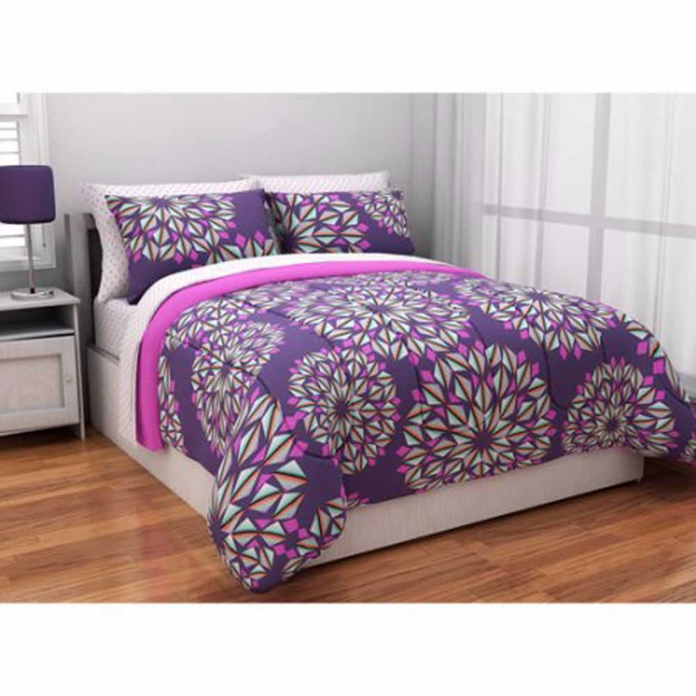 Bedding Set for Teens Twin XL Comforter Reversible Bed in