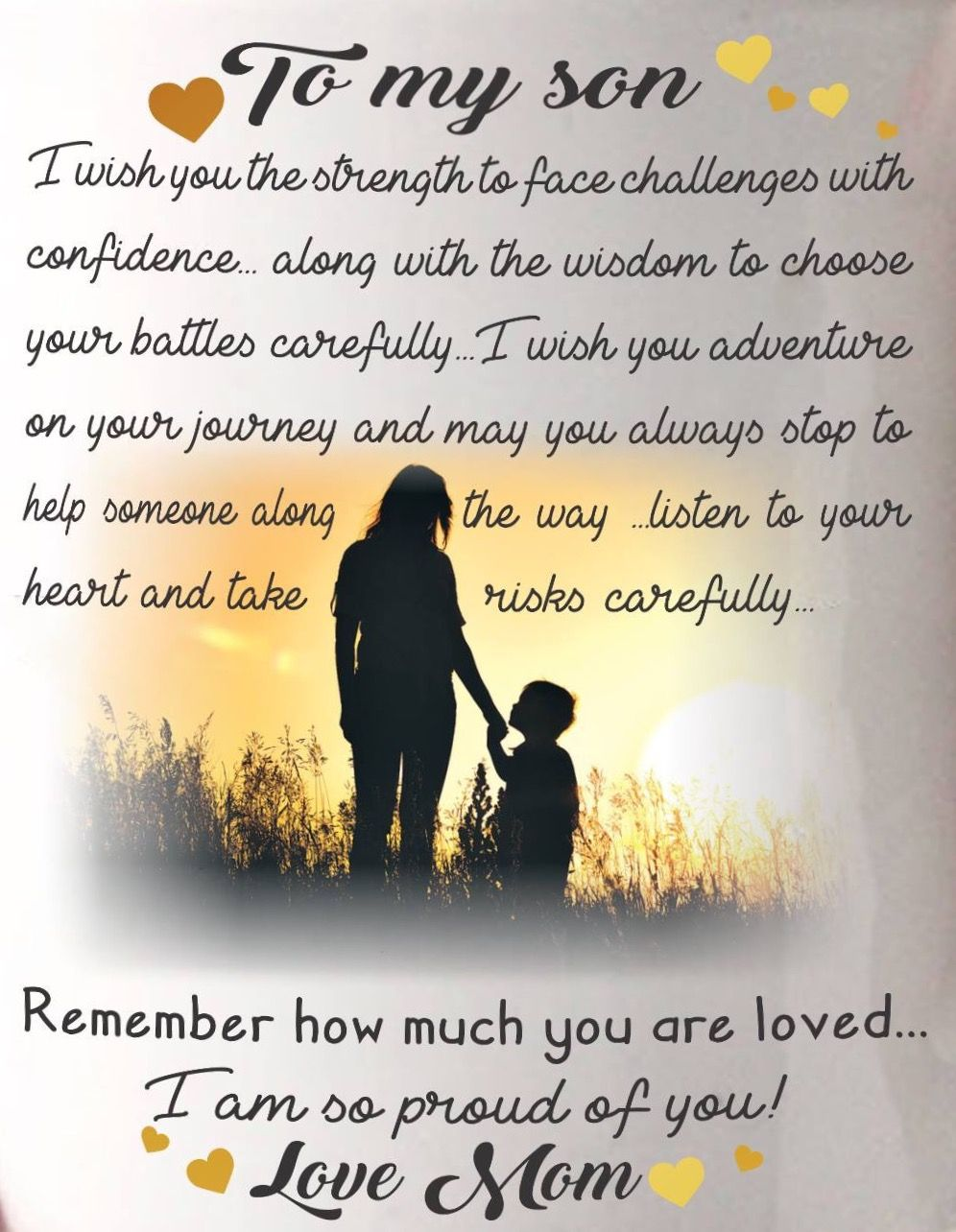 Mother Son Love Quotes And Sayings