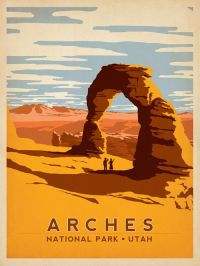 Vintage National Park Poster... Amazing Art Deco ...
