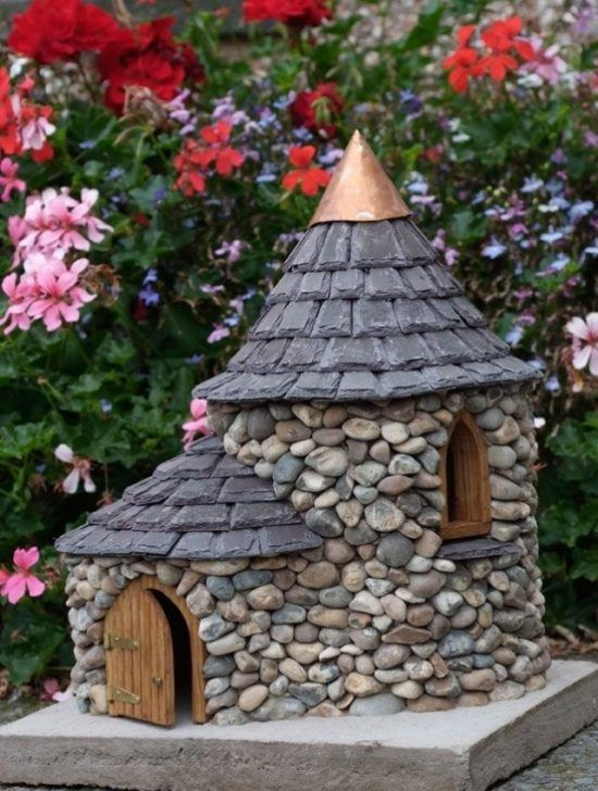 Stone Fairy House How To Make Your Own Fairy Houses River