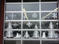 Winter Wonderland window painting @ A Salon 7, in Reno by ...