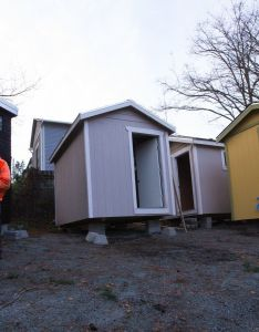 new community of tiny houses for the homeless in seattle builds on experiences at portland   also best help and ideas images pinterest rh