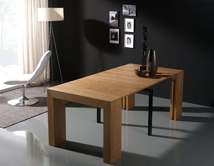 Mesa consola extensible  Hogar y muebles  Pinterest