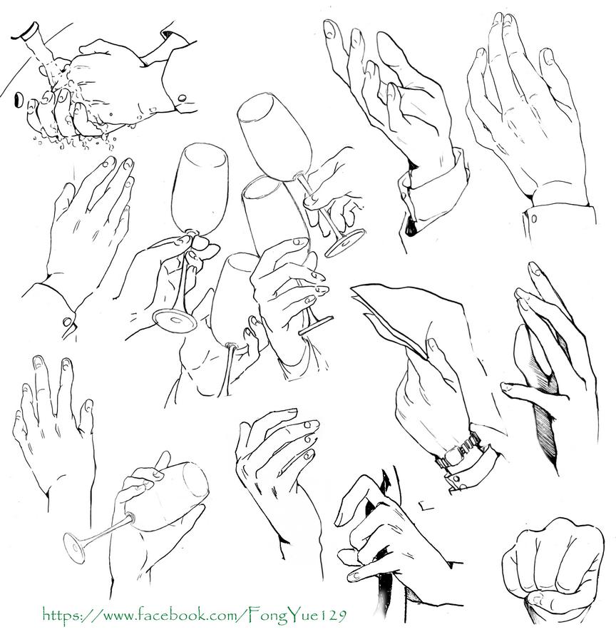 hands part3 by Tsutsuji-Sakai.deviantart.com on
