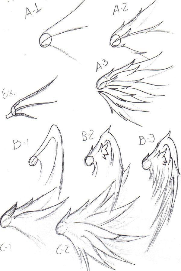 wing drawing tips by freddyfrijolero.deviantart.com on