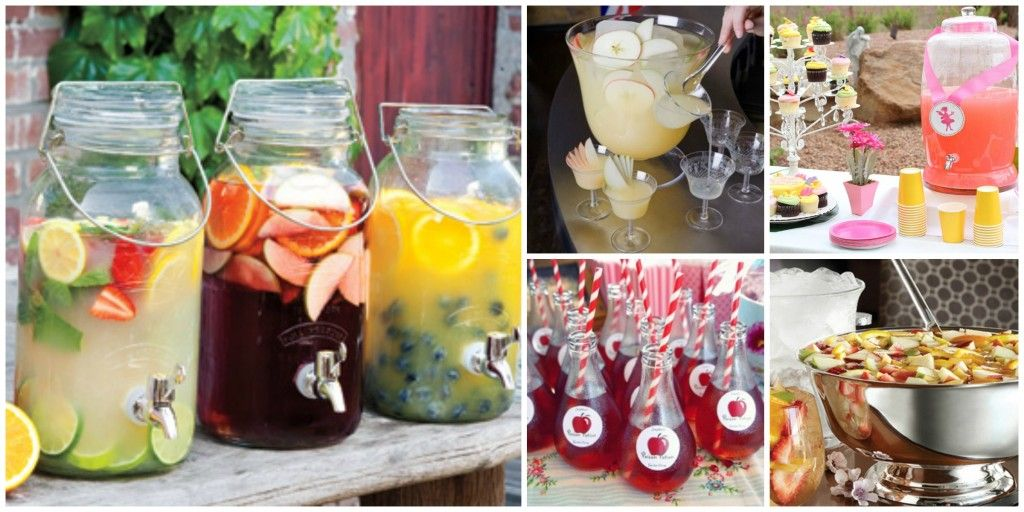 Garden Party Food And Drink Ideas Food Ideas